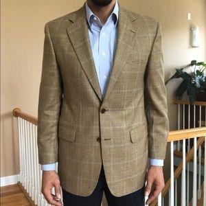 New Brooks Brothers Glen Plaid Wool Sport Coat